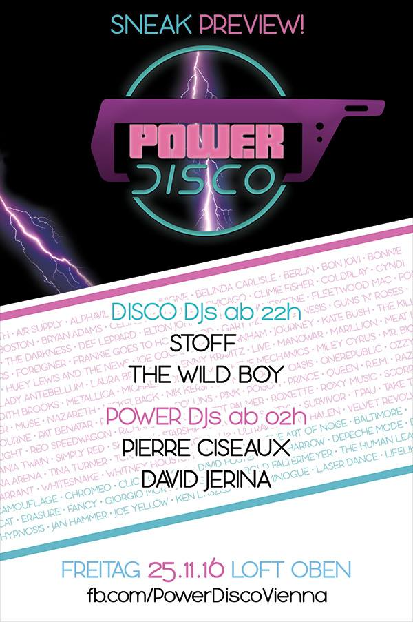Power Disco Sneak 1