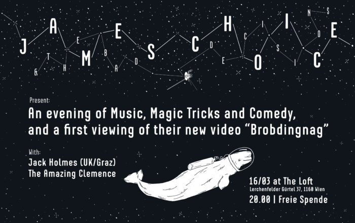 James Choice & The Bad Decisions: Video Launch, Comedy & Magic! 1