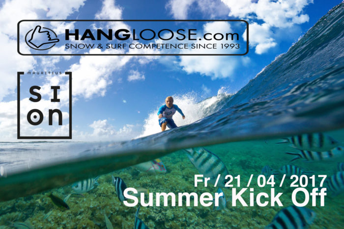 Hangloose & SION Mauritius Summer Kick Off 1