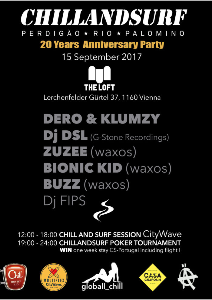 20 YEARS CHILLANDSURF PARTY 1