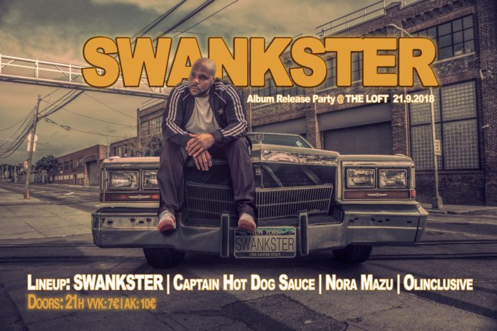 SWANKSTER Album Release Party 1