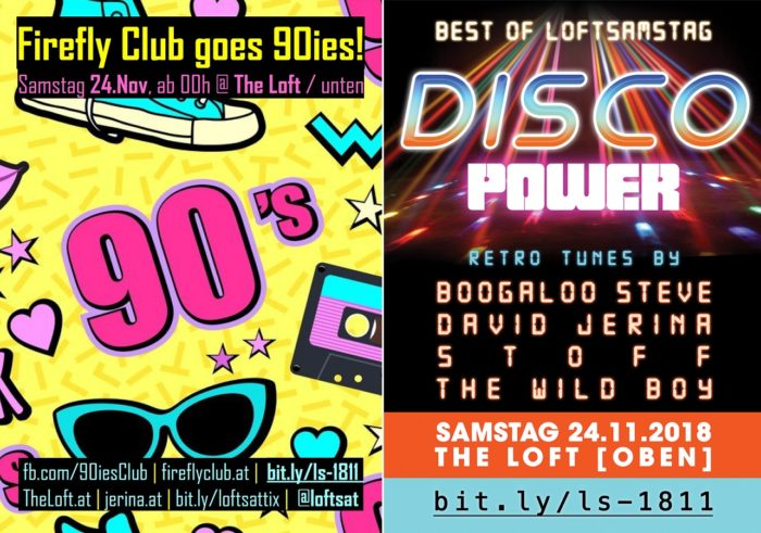 Firefly Club goes 90ies & Disco 1