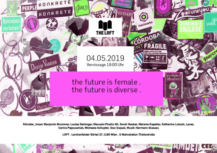 the future is female. the future is diverse. 1