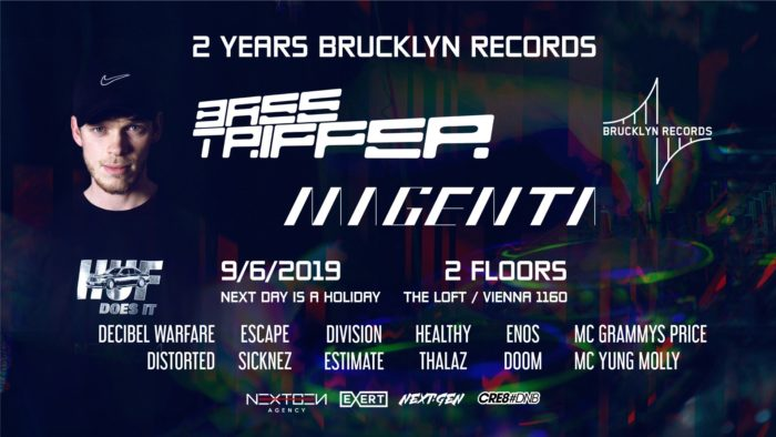2 Years Brucklyn Records Anniversary 1