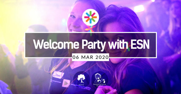 Welcome Party with ESN 1