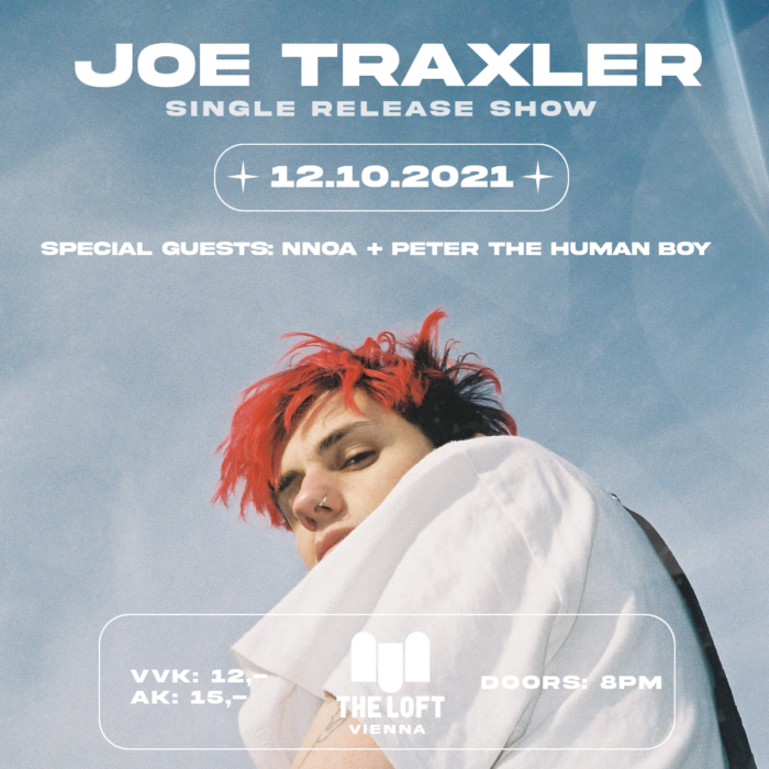 JOE TRAXLER - Single Release Show // special guests NNOA + PETER THE HUMAN BOY 1
